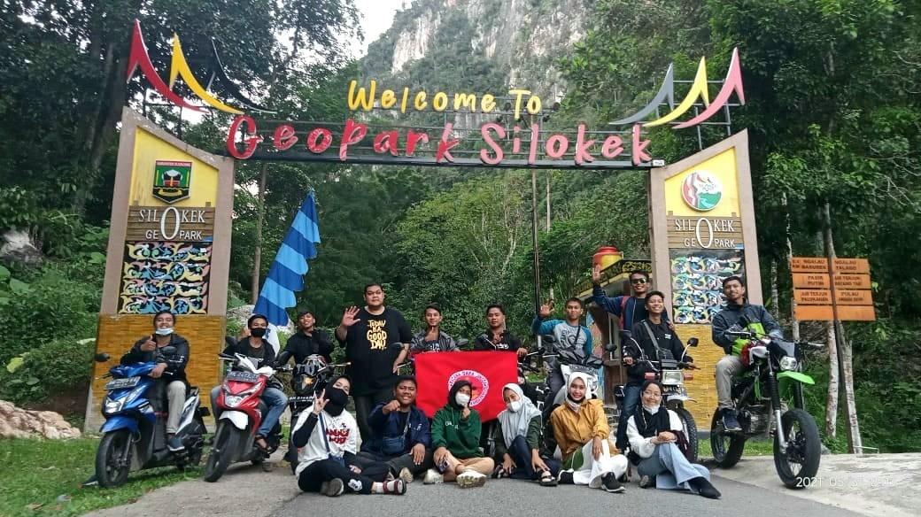UKM Pramuka Undhari Kunjungi Kwarcab 03 Sijunjung dan Geopark Ranah Minang Silokek
