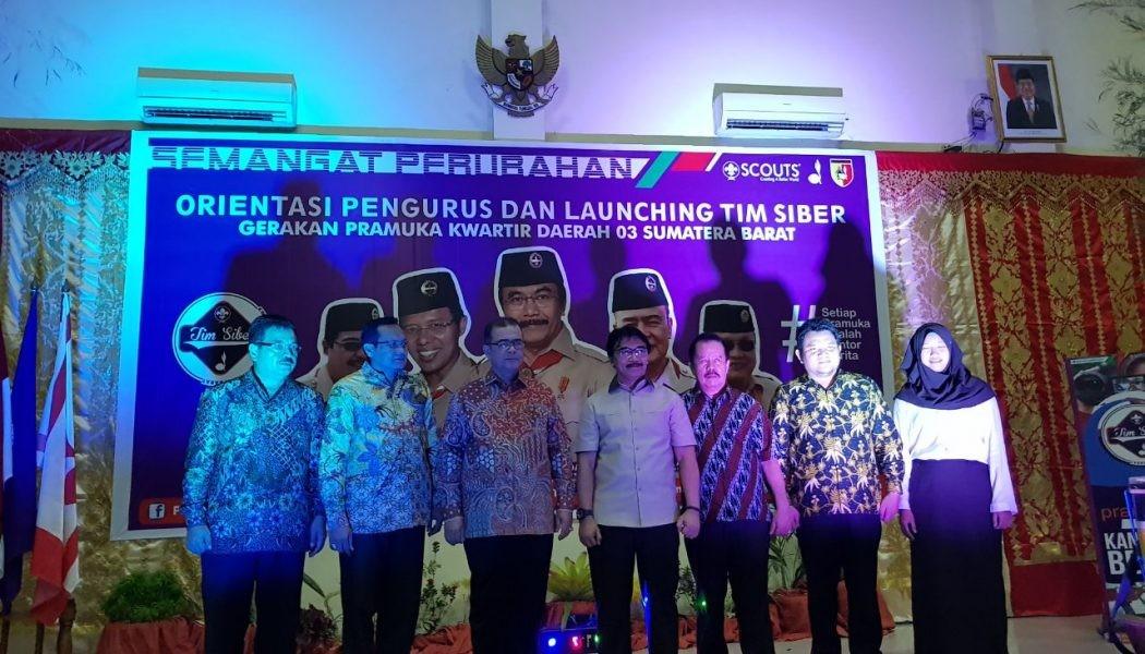 Resmi Dibentuk, Tim Siber Kwarda Sumatera Barat Ingin Wujudkan Internet Sehat