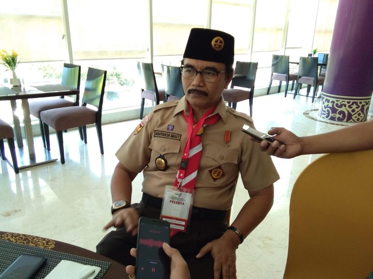 Pemilihan Ketua Kwarnas, Adhyaksa Dault Klaim di Dukung 24 Kwarda