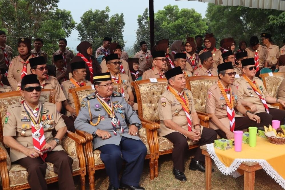 Gubernur Sumbar selaku Mabida Kwarda 03 Sumbar pimpin Upacara peringatan Hapram ke-58