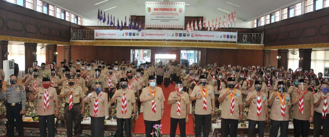 Nasrul Abit Tekankan Pramuka Untuk Tidak Terlibat Langsung Berpolitik Praktis Pada Pilkada 2020